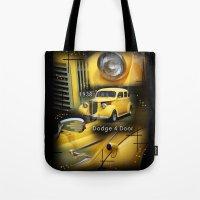 1938 Dodge 4 Door  Tote Bag