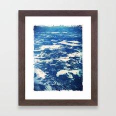 Ottawa Winter from The Air Framed Art Print