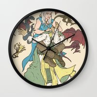 Mother of the Dragon Sleeper Wall Clock
