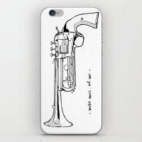 Make music, not war. iPhone & iPod Skin