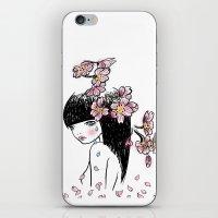 Sakura Tears iPhone & iPod Skin