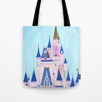 Cinderella's Castle Tote Bag