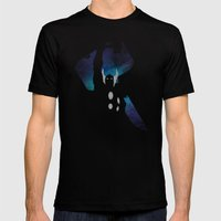 SuperHeroes Shadows : Th… Mens Fitted Tee Black SMALL