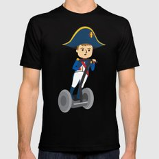 Napoleon Segways the Alps Mens Fitted Tee Black SMALL