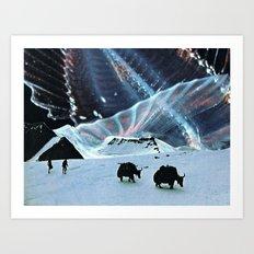 Behind The Stars Art Print