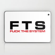 F*ck The System Music Quote Laptop & iPad Skin
