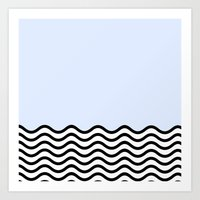 Cold Wave; Art Print