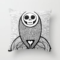 Coroner's Joke no.3 Throw Pillow