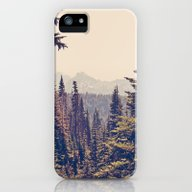 Mountains Through The Tr… iPhone (5, 5s) Slim Case