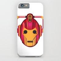 cyber iron man iPhone 6 Slim Case