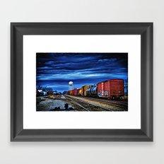 Thunder on the Rails Framed Art Print