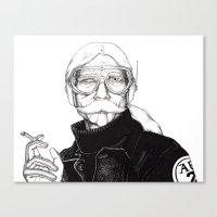 Cyborg 2 Canvas Print