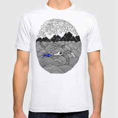 Leviathan Mens Fitted Tee Ash Grey SMALL