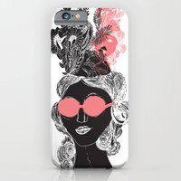 iPhone & iPod Case featuring Pink POP by Akwaflorell