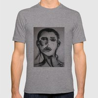 Drawing 1 Mens Fitted Tee Athletic Grey SMALL