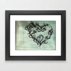 A thorn for every heart Framed Art Print