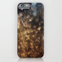 iPhone & iPod Case featuring Night rain by Anastasia Tayurskaya