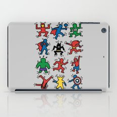 Keith Superheroes iPad Case