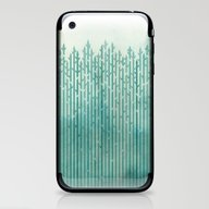iPhone & iPod Skin featuring Misty Morning by Littleclyde