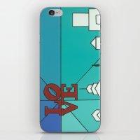 LOVE Shine iPhone & iPod Skin
