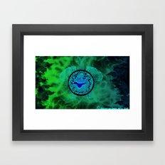 Dragons Might Framed Art Print