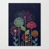 Flower Tales 2 Canvas Print