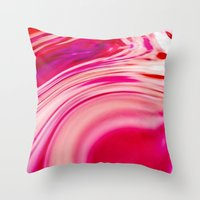 A Hot  Day On Mars Throw Pillow
