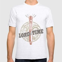 Steampunk Sonic Screwdriver Mens Fitted Tee Ash Grey SMALL