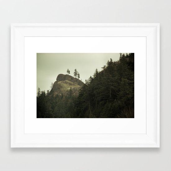 Columbia Gorge II Framed Art Print