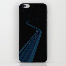Through the Construct of Night iPhone & iPod Skin