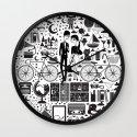 LIKES PATTERNS Wall Clock