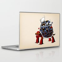 turtle Laptop & iPad Skins featuring Turtle  by Lauro