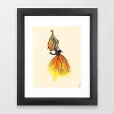 Bookworm Metamorphosis Framed Art Print
