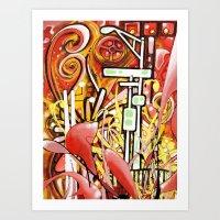 Landmark Art Print