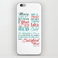Satisfied Mind iPhone & iPod Skin