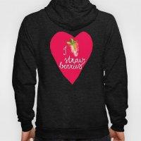 i heart strawberries Hoody