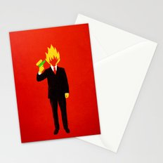 The Tragic Death of Mr. Burns Stationery Cards