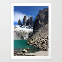 Mirador Las Torres, Patagonia Art Print