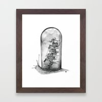Snail - Evolving Home Framed Art Print