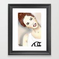 Barbara Palvin Framed Art Print