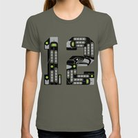 Seattle 12th Man - Black Womens Fitted Tee Lieutenant SMALL