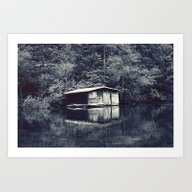Art Print featuring Cabin In The Woods, Revi… by Farsidian