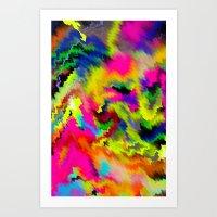 Arcade Wave Art Print