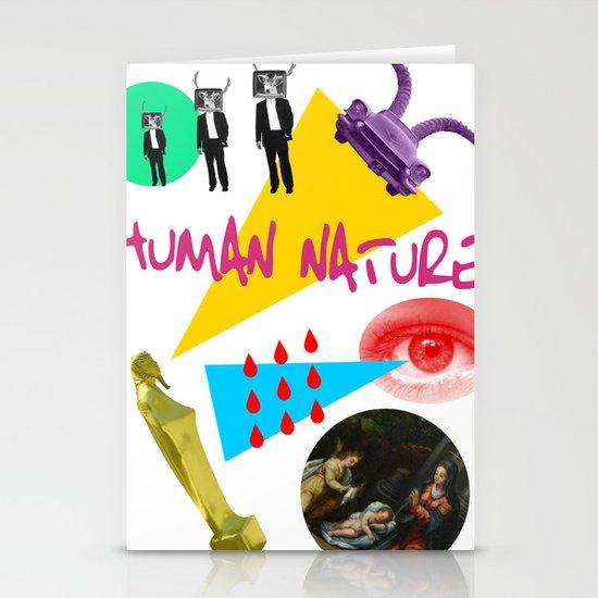 Human Nature Stationery Card