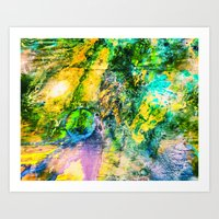 My Sister lives On The Large Green Planet Art Print