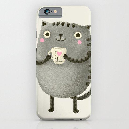 I♥kill (brown) iPhone & iPod Case