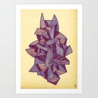 - batpunk - Art Print