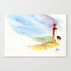 Lighthouse Impressions Canvas Print