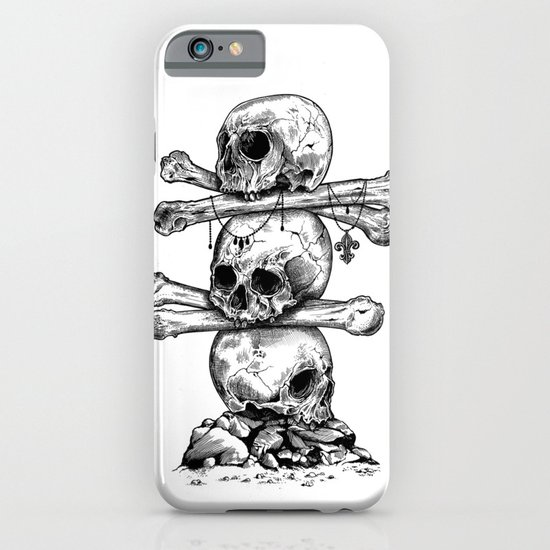 Skull Totem iPhone & iPod Case
