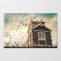 Strange House Canvas Print